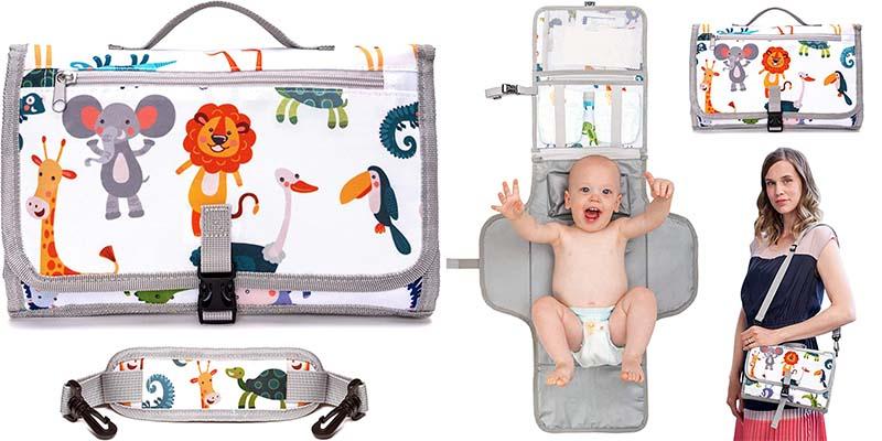 Cambiador de bebé portátil